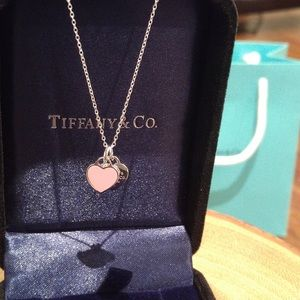 RETURN TO TIFFANY® Mini Double Heart Tag Pendant